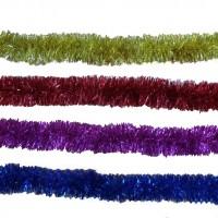 Beteala Craciun, albastra, rosie, mov, aurie, 2 m, SYCTG-041