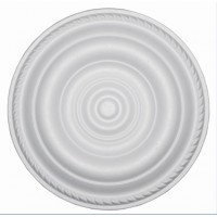 Rozeta din polistiren C307 baroc alb 30 x 1 cm