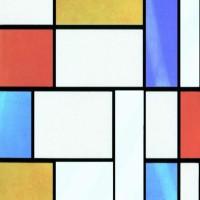 Autocolant decorativ Gekkofix Mondriaan 10277, multicolor, 0.45 x 15 m