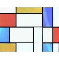 Autocolant decorativ, Gekkofix Mondriaan 10277, multicolor, 0.45 x 15 m