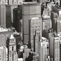 Autocolant decorativ Gekkofix Urban sky 11910, gri + negru, 0.45 x 15 m