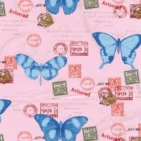 Autocolant pentru camera copii Gekkofix Butterflies 1268, multicolor, 0.45 x 15 m