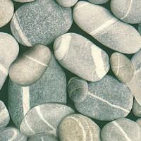 Autocolant pietre Gekkofix Stones 10193, gri, 0.45 x 15 m