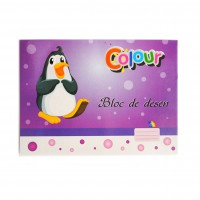 Bloc desen A4, 16 file, 140g/mp