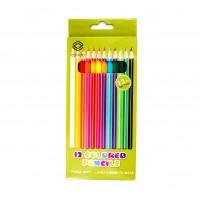 Creioane colorate, set 12 culori