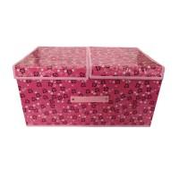 Cutie depozitare D13, capac dublu cu scai, diverse culori, 50 x 30 x 24.5 cm