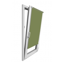 Stor Clemfix 62 x 160 cm verde LAR-K9