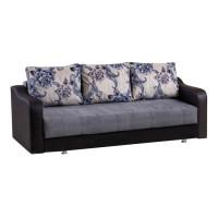 Canapea extensibila 3 locuri Ultra, cu lada, diverse culori, 222 x 105 x 75 cm, 1C