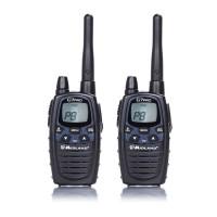 Statie radio emisie / receptie PMR / LPD portabila Midland G7 Pro, set 2 bucati, vibratii la apel, blocare tastatura, scanare canale, Dual watch, Roger Beep