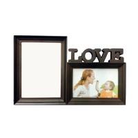 Rama foto Family D76, din plastic, colaj 2 poze, 40 x 30 x 4 cm
