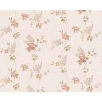 Tapet hartie, model floral, AS Creation Villa Rosso 959283 10 x 0.53 m