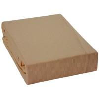 Cuvertura de pat Pike, bumbac, maro, 200 x 230 cm