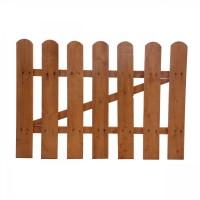 Poarta gardut, lemn, pentru gradina, 60 x 85 cm