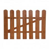Poarta gardut, din lemn, pentru gradina, 85 x 85 cm