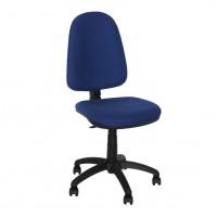 Scaun birou ergonomic Golf, rotativ, stofa C14, albastru inchis