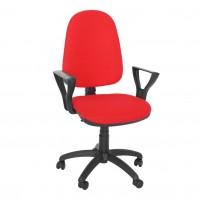 Scaun birou ergonomic Golf LX, rotativ, stofa C02, rosu