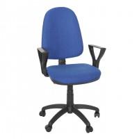 Scaun birou ergonomic Golf LX, rotativ, stofa C14, albastru deschis