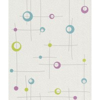 Tapet fibra textila, model geometric, Rasch Best Of 725513, 10 x 0.53 m