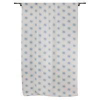 Draperie Cosmos, PES 93%, LI 7%, albastru, H 280 cm
