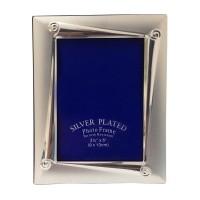 Rama foto, dreptunghiulara, argintie, 12.5 x 16.5 cm