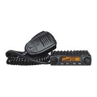 Statie radio auto CB Albrecht AE 6110, 4 W, 12 V, scanare canale, RF Gain, ASQ - squelch automat, buton canale urgenta 9/19