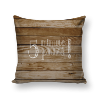 Perna decor PPH08, poliester, cu imprimeu, 43 x 43 cm