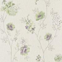 Tapet fibra textila, model floral, Rasch Amelie 573473, 10 x 0.53 m