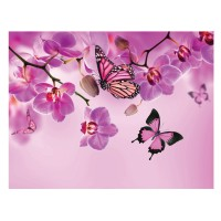 Tablou, compozitie cu flori, canvas, 45 x 60 cm