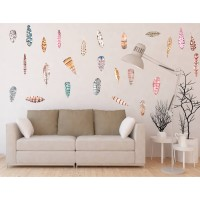 Sticker decorativ perete, living, Pene 2, PT1462, 60 x 90 cm