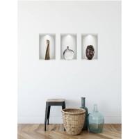Sticker decorativ perete, hol, Vaza iluzie 3, PT1471, 56 x 30 cm