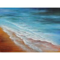 Tablou, peisaj, canvas + sasiu brad, 80 x 60 cm