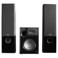 Sistem audio 2.1 Akai SS034A-66TT, 2 boxe + subwoofer, 100 W, Bluetooth, USB, SD card slot, intrare microfon, functie karaoke, negru
