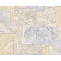 Tapet hartie, model urban, AS Creation Natur 5 664310, 10 x 0.53 m