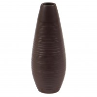 Vaza decorativa 90914 117, maro, 24 cm