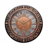 Ceas perete D254, analog, rotund, din plastic, diametru 45 cm