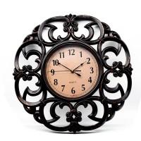 Ceas de perete D256, din plastic / sticla, 49 x 48 x 5 cm