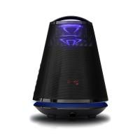 Boxa portabila activa Akai ABTS-605B, 25 W, Bluetooth, USB, SD Card, Aux in, karaoke, radio FM, negru, functie de inregistrare, microfon wireless