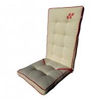 Perna cu broderie pentru scaun, Rustic, bumbac, 117 x 46 cm