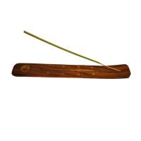 Suport din lemn pentru arderea betisoarelor parfumate, Aroma Land
