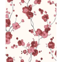 Tapet vlies, model floral, Grandeco New Aurora NA3105 10 x 0.53 m