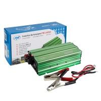 Invertor de tensiune PNI, 500 W, intrare 12 V, iesire 220 V, USB + clesti alimentare
