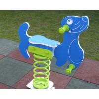 Balansoar copii, foca pe arc FA.03, structura metalica, exterior, 70 x 20 x 80 cm