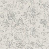 Tapet vlies, model floral, Rasch Florentine II 449440, 10 x 0.53 m