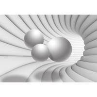 Fototapet duplex 3D Balls 10141P4 254 x 184 cm