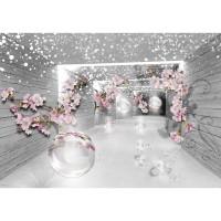 Fototapet duplex 3D Flowers 3360P8 368 x 254 cm