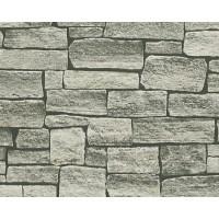 Tapet vlies, model piatra, AS Creation Best of Wood'n Stone 958712, 10 x 0.53 m