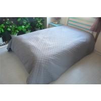Cuvertura de pat GS2016-B, poliester, gri, 220 x 240 cm