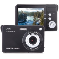 Camera foto digitala PNI Explorer M1, 18 MP, inregistrare HD, display LCD, 2.7 inch, zoom 8x, negru
