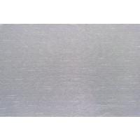 Perdea Linea, poliester, fir de plumb, alb, H 290 cm