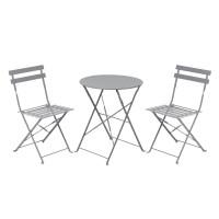 Set masa cu 2 scaune pentru gradina Bistro Roma din metal